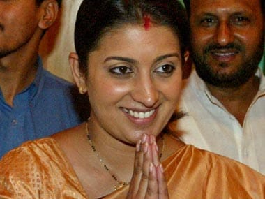 The problem with smriti irani she has proved her detractors when it comes to image management beyond the cosmetics of appearance smriti irani keeps falling sciox Images