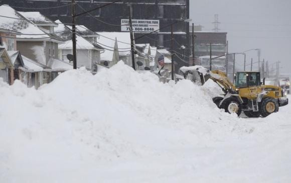 Residents in western New York call snow worst in memory