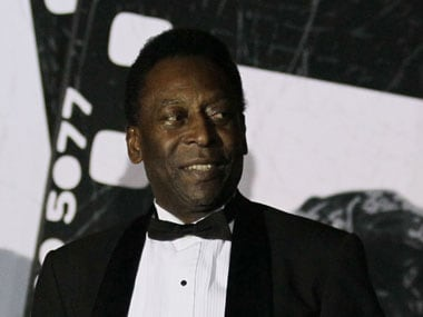 Football great Pele stable but still in hospital