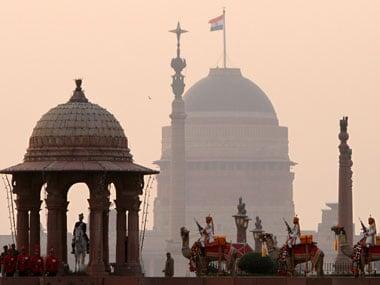 Rashtrapati Bhavan. Reuters