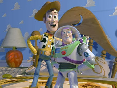 The publicity still released for Toy Story 4. AP.