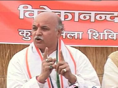 File image of Praveen Togadia. Image credit: IBNLive