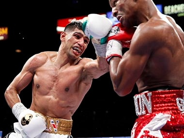File photo of Amir Khan. Reuters