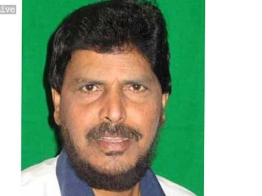 File image of Ramdas Athawale. IBNLive