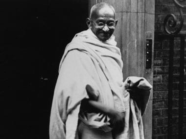 Mahatma Gandhi. Getty Images.