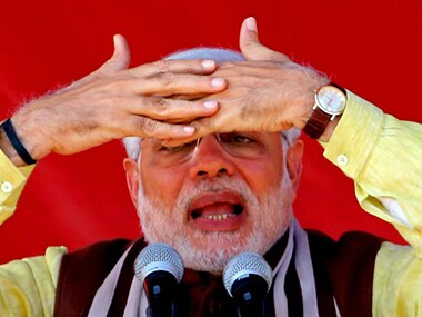 Will the real Narendra Modi please speak up? AFP image