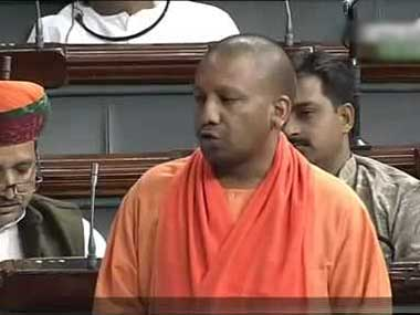Fireband BJP MP Yogi Adityanath.