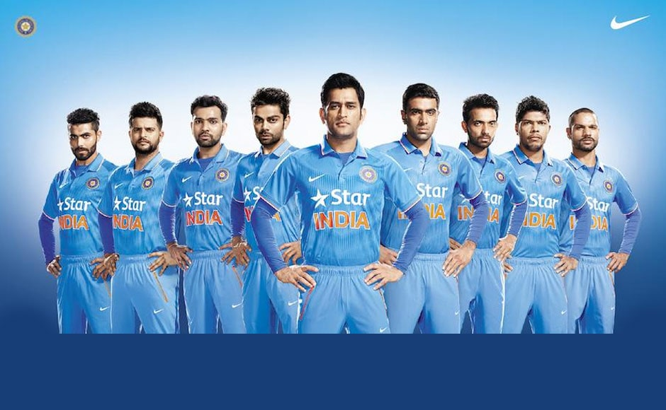 Photos Environment Friendly Jerseys For Team India: Photos: India's All New Official Team Jersey Unveiled At MCG