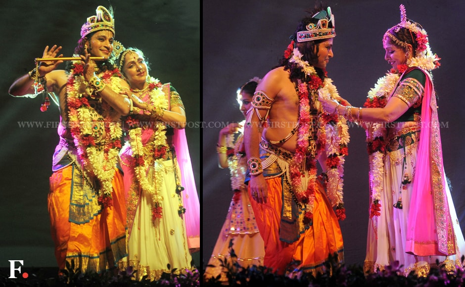 Photos: 'Dream Girl' Hema Malini performs 'Radha Ras ...