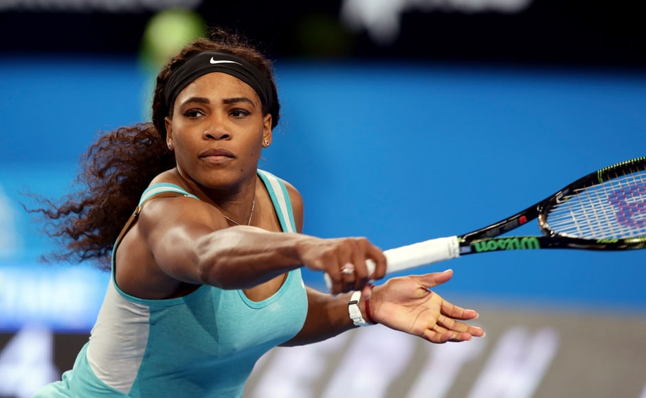 Who does serena williams date in Sydney