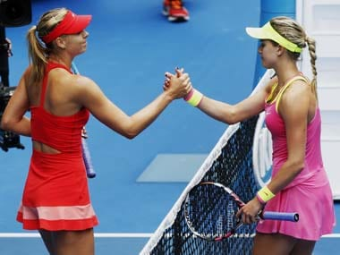 I love my life, says Sharapova after beating Bouchard in Australian Open quarter-final