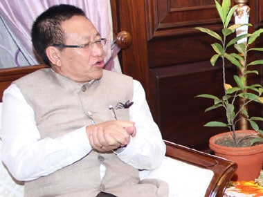 File image of Nagaland chief minister TR Zeliang. Image courtesy: PIB