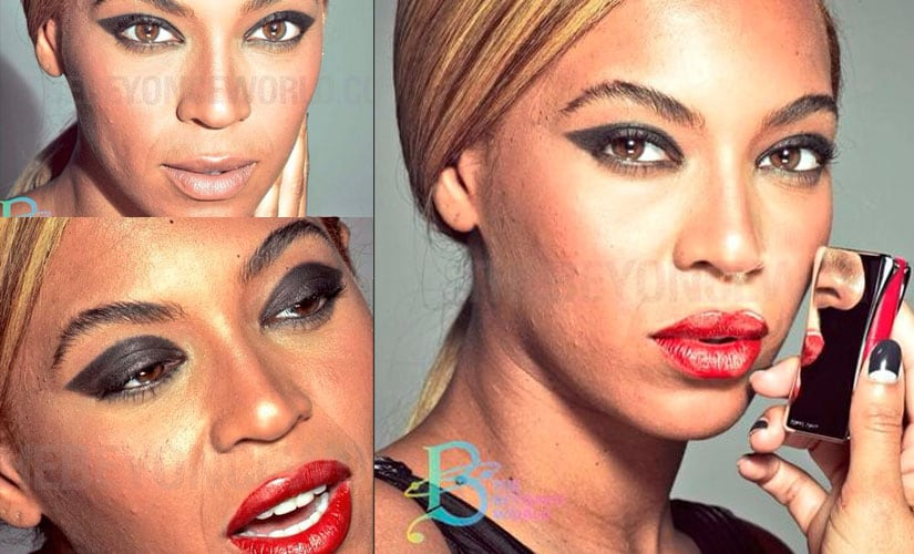 Celebrity photoshop fails