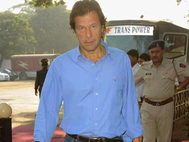 File image of Pakistan political leader Imran Khan. Getty images.