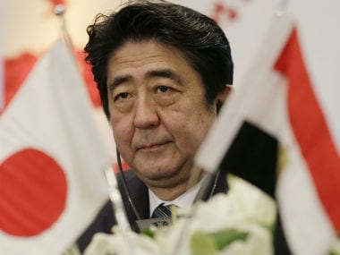File photo of Japanese Prime Minister Shinzo Abe. AP