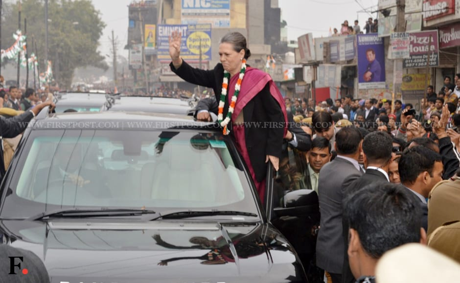 photos sheila maken join sonia gandhi s first delhi rally but no  1 4 congress president sonia gandhi held her first rally in delhi at badarpur while ajay maken