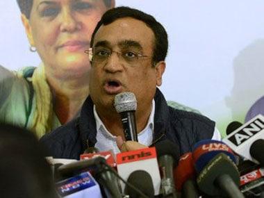 Ajay Maken. AFP