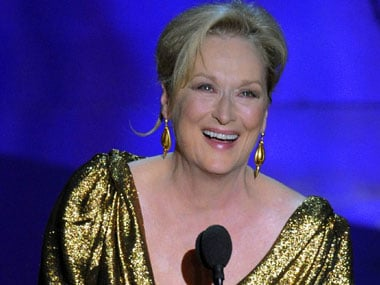 Oscar winner actor Meryl Streep.