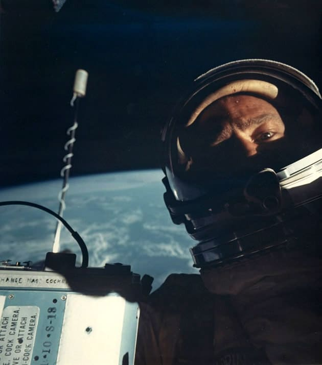 First ever 'space selfie' sells for nearly 6,000 pounds at auction