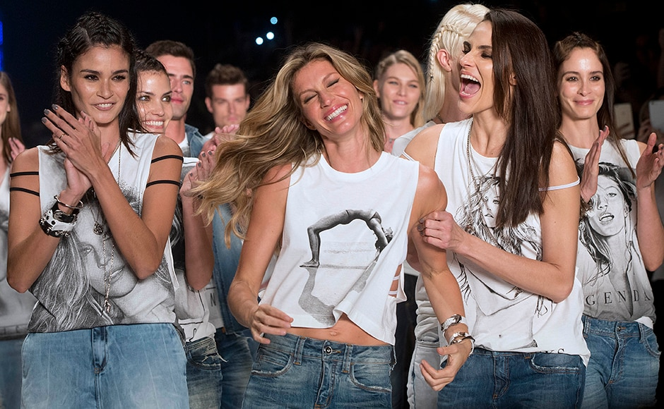 Photos: After 20 years on the runway, supermodel Gisele Bundchen retires