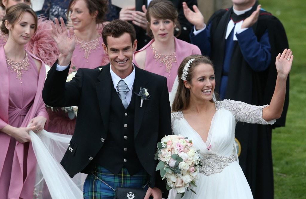 Andre murray wedding