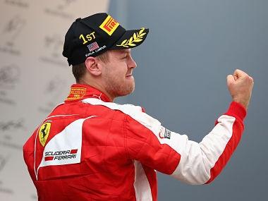 File picture of Sebastian Vettel. Getty