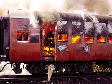 The Godhra train burning incident had. Reuters