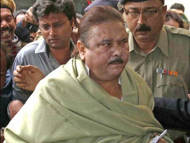 File image of Madan Mitra, the face of the Saradha scam. PTI