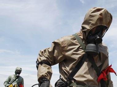 Syrian chemical weopons violations. Representational image. Reuters