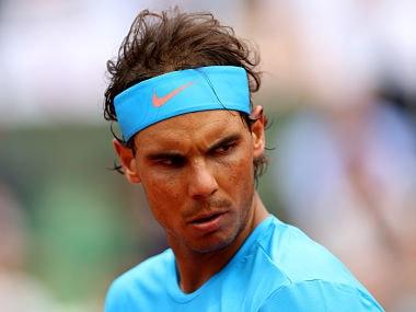 File picture of Rafael Nadal. Getty