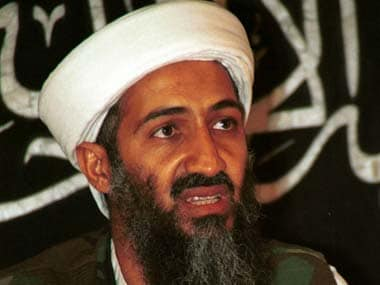Osama bin Laden. PTI