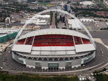 File picture of Wembley Stadium. Getty
