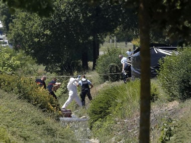France terror attack: Decapitated body found after 'terror' blast in factory, suspects held