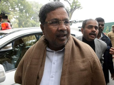 File image of Karnataka chief minister Siddaramaiah. AFP