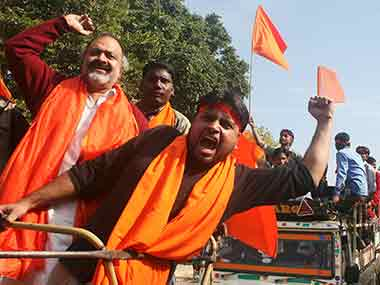 Hindu outfits, RSS block roads, demand restoration of temples razed for Jaipur Metro