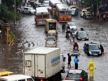 The BMC failed in its efforts to prevent water-logging across the city. PTI