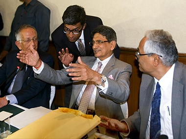 Justice Lodha. Photo: Naresh Sharma