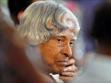 File image of APJ Abdul Kalam. AFP