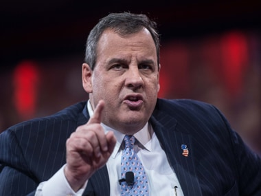 File image of Chris Christie. AFP