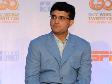 File picture of Sourav Ganguly. AFP