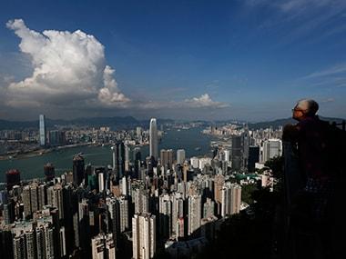 Hong Kong skyline. Reuters