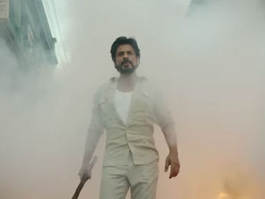 Shah Rukh Khan in Raees. Screenshot from YouTube video