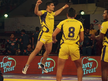 Telugu Titans star Rahul Chaudhari will be the man to watch out for in the Hyderabad leg of Pro Kabaddi. PKL