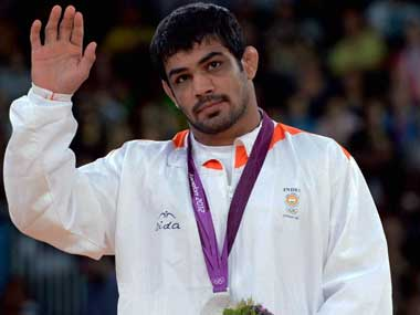 File picture of Sushil Kumar. PTI