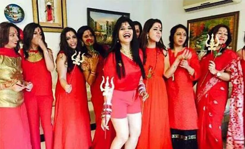 Radha likes to party: Here's the Radhe Maa-themed kitty party image that is going viral