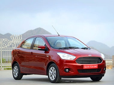 Ford Launches Compact Sedan Figo Aspire At Starting Price Of Rs