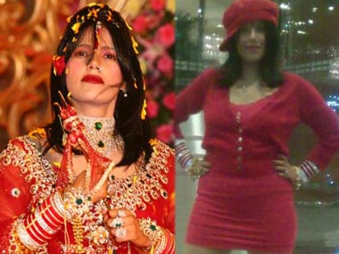 What the outrage against 'godwoman' Radhe Maa's clothes tells us about 'sanskari' India
