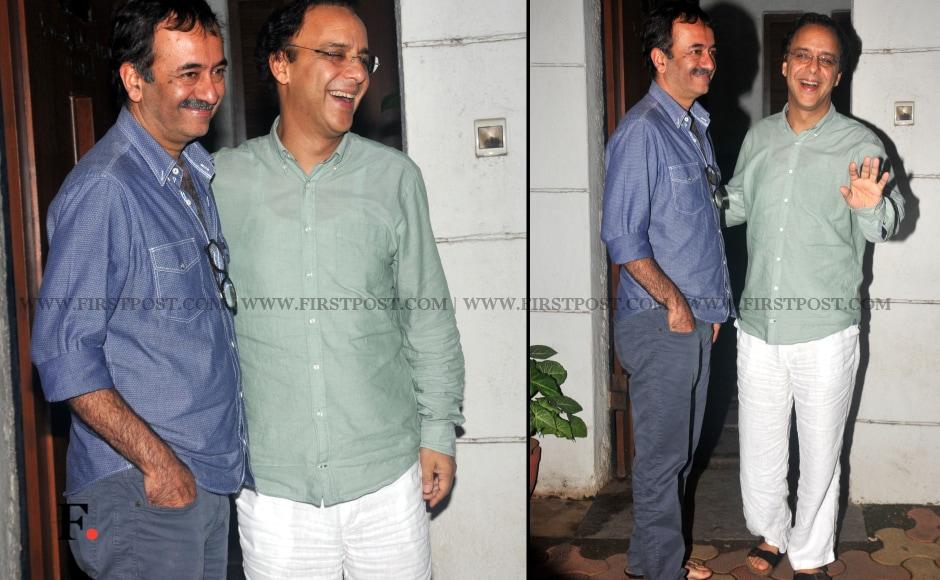 Rajkumar Hirani & Vidhu Vinod Chopra