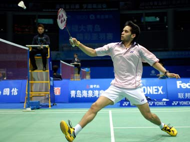 File picture of Parupalli Kashyap. Getty