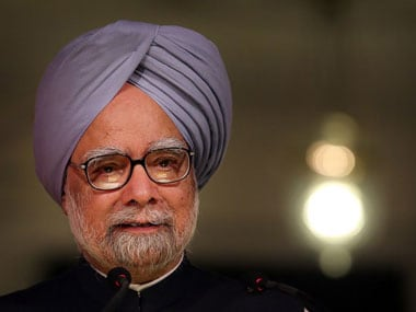 Former PM Manmohan Singh. File photo. AFP